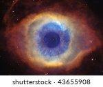 Helix Nebula  God's Eye  With...
