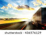 Truck Driver Blinded By The Su...