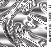 retro  vintage black and white... | Shutterstock .eps vector #436584415