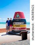 key west  florida   april  26 ... | Shutterstock . vector #436585621