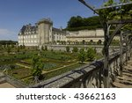 france  french formal garden at ... | Shutterstock . vector #43662163