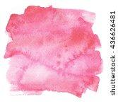 water color background.... | Shutterstock . vector #436626481