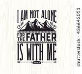 biblical illustration.... | Shutterstock .eps vector #436642051