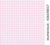 Pink Seamless Gingham Pattern....