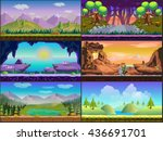 cartoon game design nature...