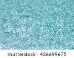 Waving  Blue Water Surface
