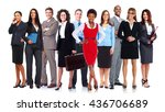 business team. | Shutterstock . vector #436706689