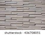 brick wall for texture... | Shutterstock . vector #436708051