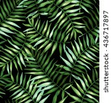 tropical seamless pattern with...   Shutterstock .eps vector #436717897