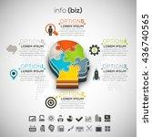 vector illustration of business ...   Shutterstock .eps vector #436740565
