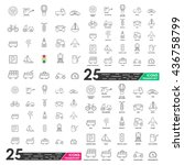 transport vector | Shutterstock .eps vector #436758799