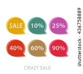 advertising picture discount... | Shutterstock .eps vector #436758889