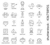 transport vector | Shutterstock .eps vector #436758931