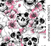 Seamless Pattern With Image A...