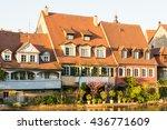 fishermen's houses from the... | Shutterstock . vector #436771609