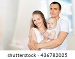 happy young family | Shutterstock . vector #436782025
