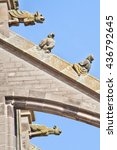 Small photo of Jheronimus Bosch's stone flying buttress sculptures