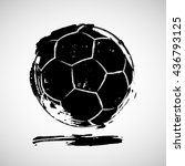 vector illustration of abstract ... | Shutterstock .eps vector #436793125