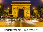 paris  france  july 26.2015  ... | Shutterstock . vector #436796371