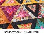 Color Patchwork Quilt....