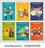 consulting  management  seo ... | Shutterstock .eps vector #436833304