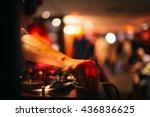 Music Background Dj Night Club...