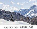 Winter Mountains  Staulanza ...