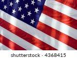 a closeup view of an american... | Shutterstock . vector #4368415