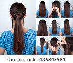 tutorial photo of simple... | Shutterstock . vector #436843981