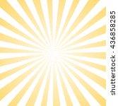 sun sunburst yellow pattern... | Shutterstock . vector #436858285