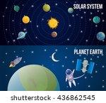 Two Horizontal Space Universe...