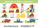 Farm Agriculture Infographics...