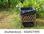 bin in the garden | Shutterstock . vector #436927495