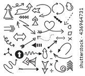 set vector illustration of... | Shutterstock .eps vector #436964731