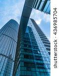 modern glass building | Shutterstock . vector #436985704