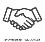 business handshake   agreement...