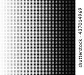 pattern halftone dot  texture... | Shutterstock .eps vector #437014969