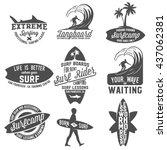 Set Of Vintage Surfing...