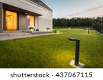 Image Of Modern Villa With...