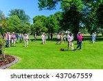 ronneby  sweden   june 6  2016  ... | Shutterstock . vector #437067559