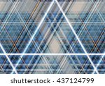 abstract colorful background... | Shutterstock . vector #437124799
