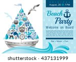 Sea Summer Travel Banner...
