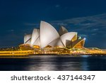 sydney  australia   april 19 ... | Shutterstock . vector #437144347