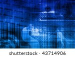 global business color... | Shutterstock . vector #43714906