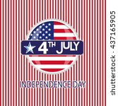 independence day | Shutterstock .eps vector #437165905