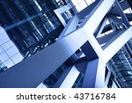 abstract architectural detail... | Shutterstock . vector #43716784
