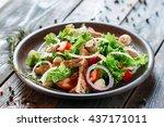 food salad fresh tasty rustic...