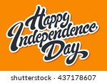 Happy Independence Day Hand...