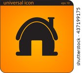 vector illustration icon house