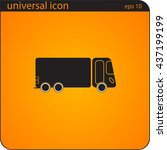 vector illustration icon truck